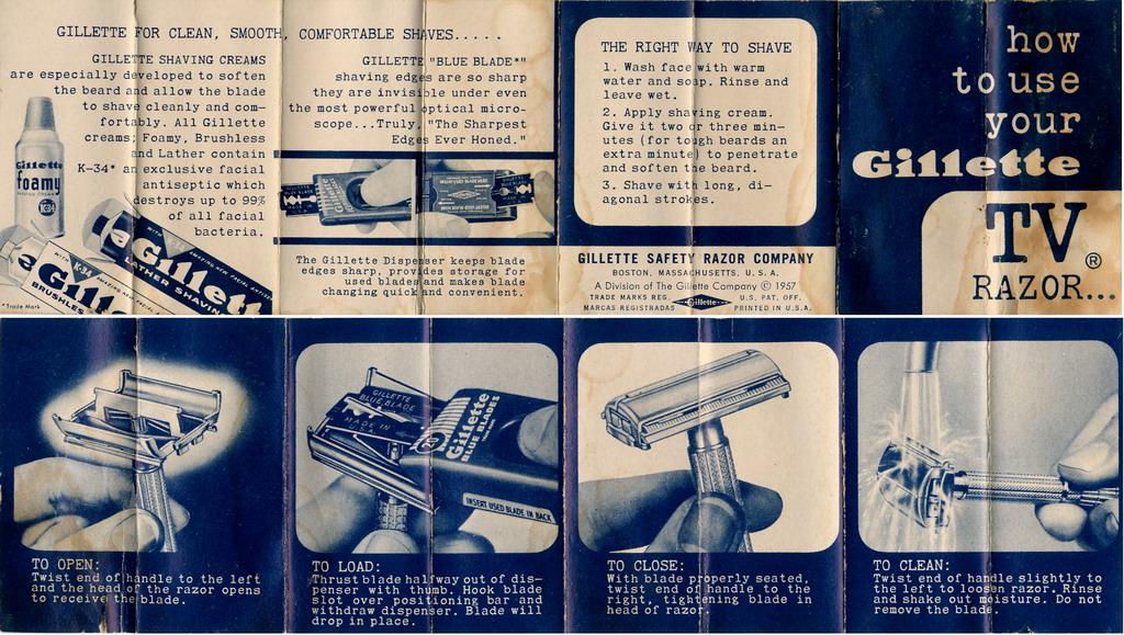 what happened to k 34 from gillette foamy badger blade. Black Bedroom Furniture Sets. Home Design Ideas