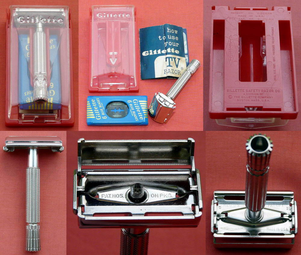 dating gillette adjustable razors