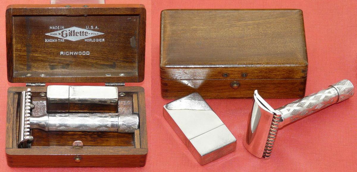 Quel  rasoir Gillette PO se situerait entre le Red Tip et Fatboy ?  1923%20Richwood