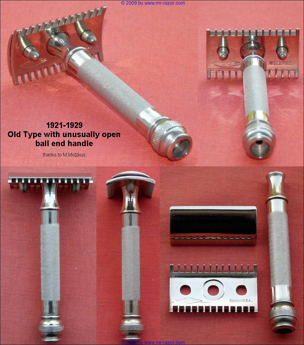 Identification Gillette inconnu 1921-1929%20Old%20Type%20open%20ball