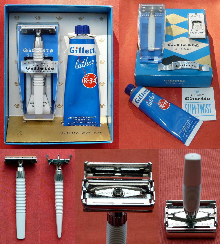 Kit de rasage Gillette année 60 1964%20Slim%20Twist%20Gift%20Set